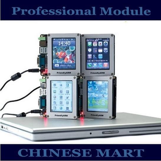 ARM S3C2440 ARM9 256 MB Nand mini2440 Desarrollo Junta Con 3.5 Pulgadas de Pantalla Táctil LCD Al Por Mayor # E09037