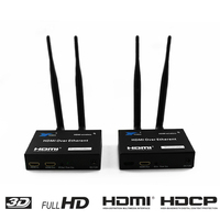 200M Wireless Extender 2.4GHz/5GHz HD 1080P HDMI 1.3 HDMI Extender Transmitter Receiver WIFI HDMI Extender