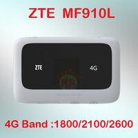 Разблокированный ZTE MF910 MF910L 4G LTE беспроводной маршрутизатор/Мобильный Wi-Fi точка доступа с слотом для sim-карты 4g маршрутизатор WiFi портативный ...