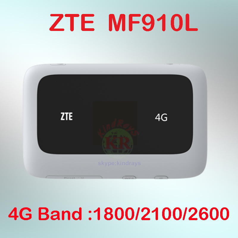Unlocked ZTE MF910  MF910L 4G LTE Wireless Router/Mobile WiFi Hotspot With SIM Card Slot 4g Router Wifi Portable  Mini  Lte