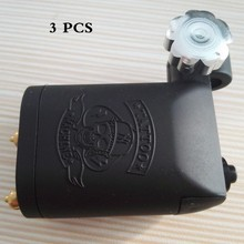 3PCS Professional Special Rotary Tattoo Machine Imported Stealth Rotary Tattoo Machinefoe Liner Shader high quality