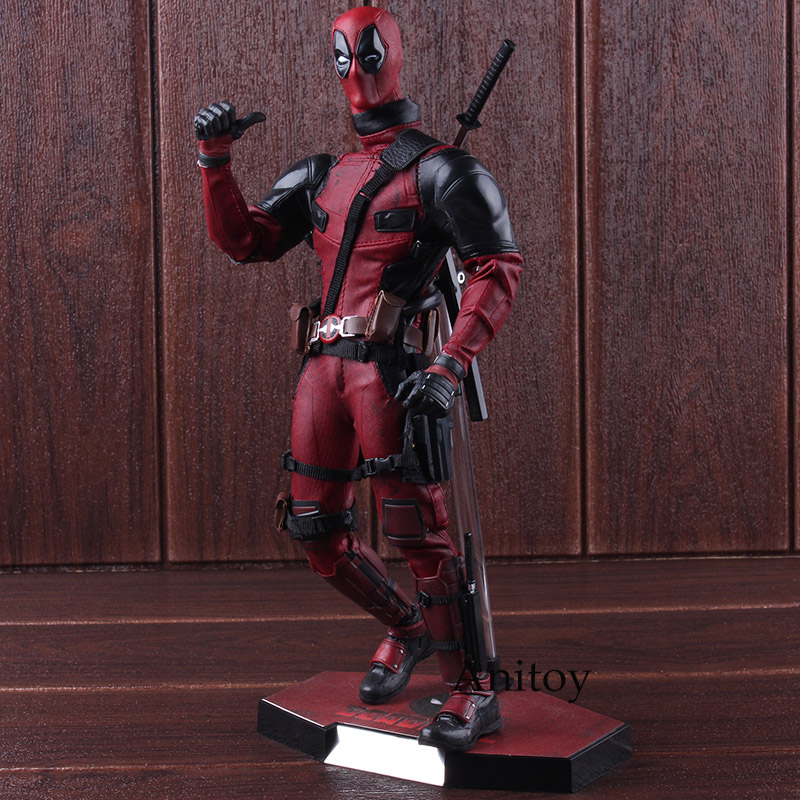 Hot Toys Deadpool MMS 347 1/6 Scale PVC Marvel Legends Deadpool Action Figure Collectible Model Toy цена
