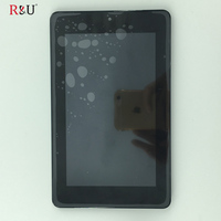 TEST GOOD LCD Display Panel Touch Screen Digitizer Assembly With Frame For Acer Iconia One 7