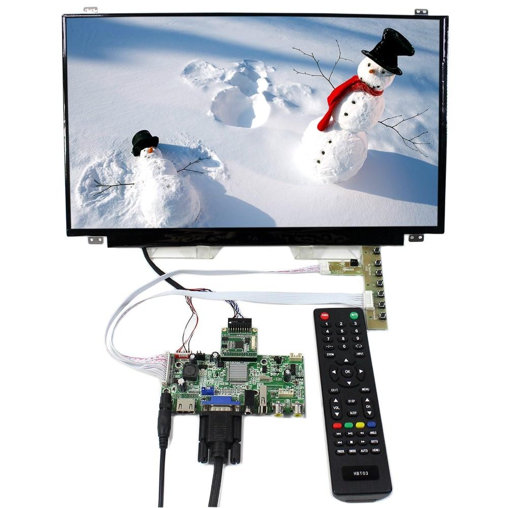 HDMI VGA AV Audio USB LCD Controller Board With 15.6inch 1920x1080 B156HAN01.2 IPS LCD ScreenHDMI VGA AV Audio USB LCD Controller Board With 15.6inch 1920x1080 B156HAN01.2 IPS LCD Screen