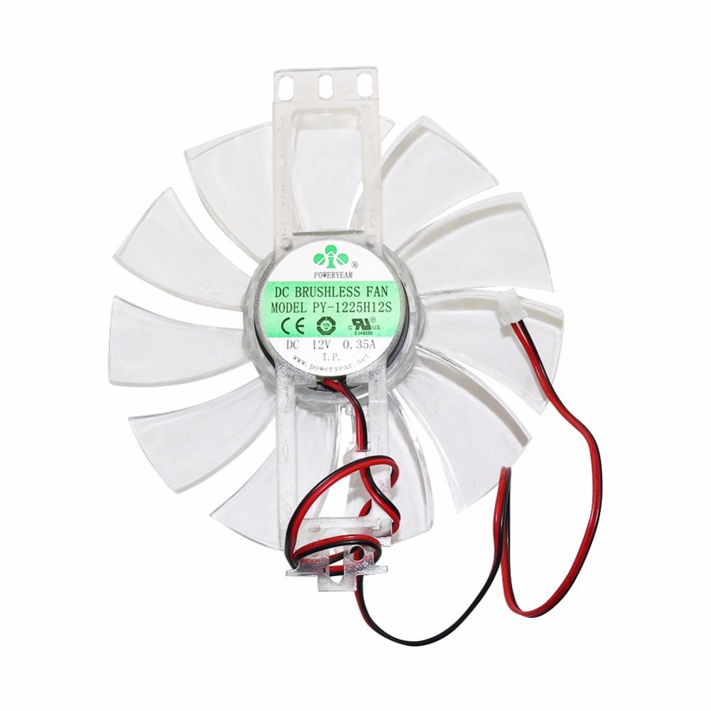 1 Pcs 11 Feuilles De Poulet Incubateur Accessoires DC 12 V 0.35A Brushless Ventilateur En Plastique Transparent Couleur De Refroidissement Ventilateur