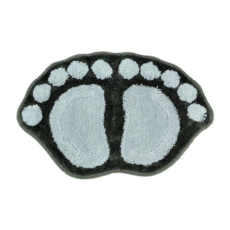 58*38cm Cute big feet bath anti - skid pad / mattress Non-slip mats Doormat