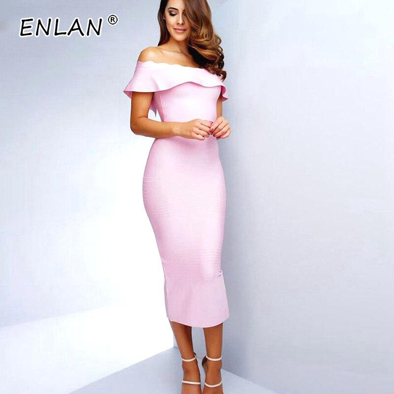 Rose De Robes Cou Club Rouge Pour Femme red Nouveauté 2019 Pink Slash Sexy Celebrity Soirée Tenue Fête Robe Lacée IybfY76vg
