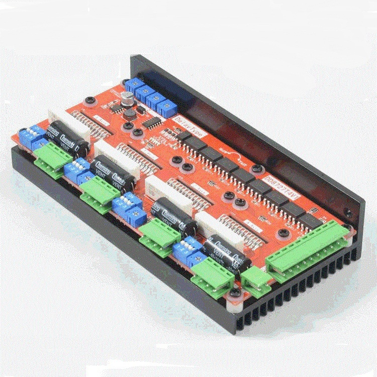 Free Shipping 4 Axis 4A 1MHz LV8727 Stepper Motor Driver Controller for CNC Engraving Machine