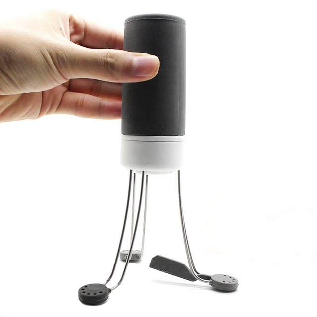 3 Speeds Automatic Cordless Stir Crazy Stick Blender Mixer Hands Free Kitchen Utensil Food Sauce Auto Stirrer Blender 4