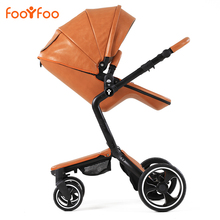 Luxury High Landscape Baby carriage, Bidirection Kid Trolley, High Quality Baby Stroller for kids 0- 36 months