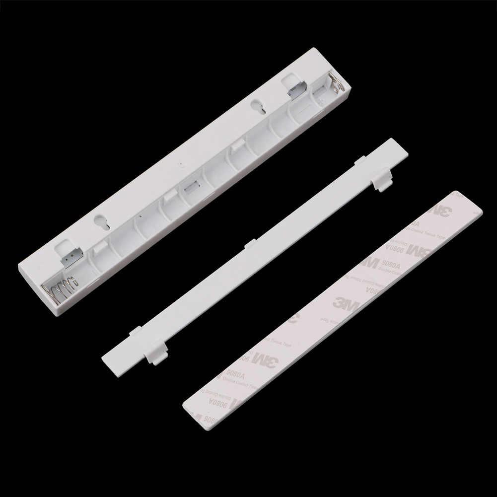 Sensor de movimiento luz nocturna Potable 10 LED luces de armario con batería gabinete inalámbrico IR infrarrojo Detector de movimiento lámpara de pared