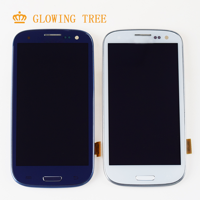 For Samsung Galaxy S III S3 LCD Touch i9300 LCD SCREEN i9301 i9305 i535 LCD i747 LCD Display Touch Screen  Assembly with FrameFor Samsung Galaxy S III S3 LCD Touch i9300 LCD SCREEN i9301 i9305 i535 LCD i747 LCD Display Touch Screen  Assembly with Frame