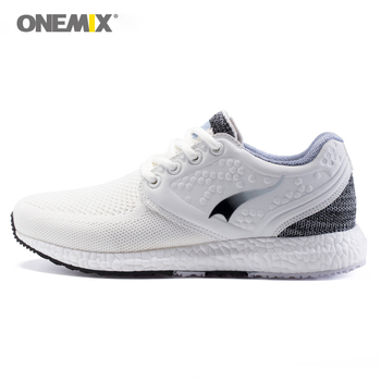 Onemix running shoes for women sneakers girls breathable cool mesh space PU outdoor lighting for sports jogging walking shoes