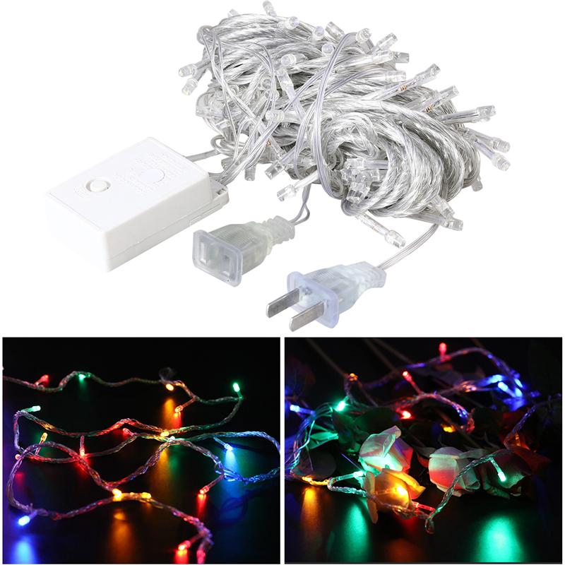 10m 99 LED String Lights Outdoor Waterproof Fairy Light String with US Plug for Christmas Home Wedding