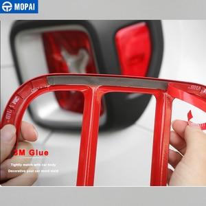 Image 5 - Металлическая накладка на заднюю фару автомобиля MOPAI, декоративная наклейка для Jeep Renegade 2015 Up, внешние аксессуары, Стайлинг автомобиля