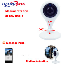 HD Mini Wifi IP Camera Wireless 720P support 64G MIcro SD Smart Baby Monitor CCTV Security Camera Remote Audio Speaker IR LED