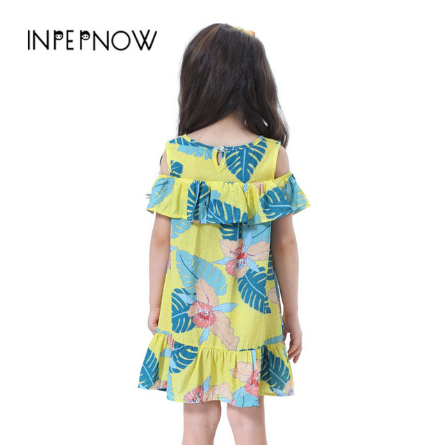 1-9y Girls Clothing Summer Girls Dresses 2019 Children Kids Dresses for Girls Elegant Princess Cotton Christmas Party LYQ-CZX48