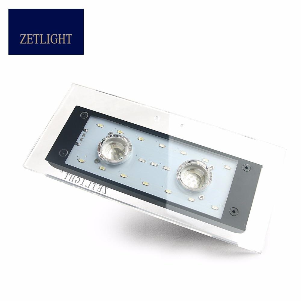 Zetlight AQUQ WIFI LED ZA1201 ZA1201L ZA1201WIFI  Full spectrum seawater coral lamp, through APP control light .AquariumLED lamp-in Lightings from Home & Garden    1