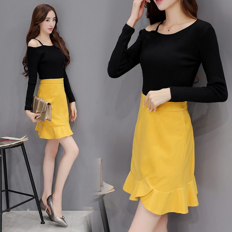 Popular Yellow Skirt Outfits-Buy Cheap Yellow Skirt Outfits lots ...