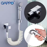 GAPPO Bidets handheld bidet spray bidet faucets toilet shower mixer tap muslim shower mixer washers wall mounted Spray Shattaf