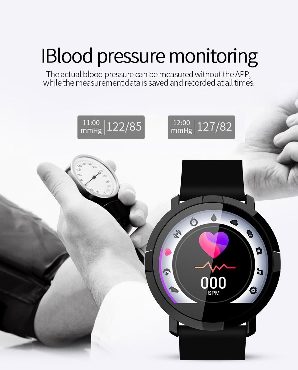 Honest 1.3inch Ecg+ppg Smart Band Watch Men Women Sport Fitness Tracker Smartband Blood Pressure Smart Bracelet For Men Ios Android Be Friendly In Use Men's Watches Digital Watches
