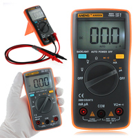 AN8004 Digital Multimeter 2000 Counts AC DC Ammeter Voltmeter Ohm Resistance Portable Electric Meter