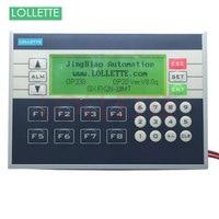 PLC&HMI LE OP330 OP330 operate panel 10DI/8DO Transistors Relay new in box HMI Software version: V8.0q