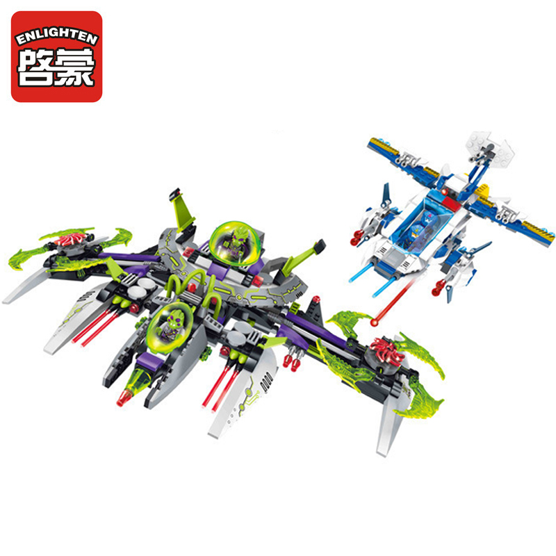 1617 ENLIGHTEN Star Wars Adventure Arrest Alien Commander Model Building Blocks Action Figure Toys For Children Compatible Legoe 1402 enlighten star wars 8 in 1 aircraft carrier ship tank model building blocks diy figure toys for children compatible legoe