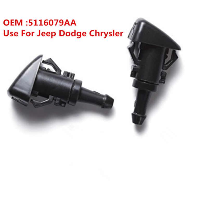 OE 5116079AA очиститель ветрового стекла струей воды Форсунка пара для 04-13 Dodge 07-10 Jeep Compass 05-10 Chrysler 300 01-10 PT Cruiser