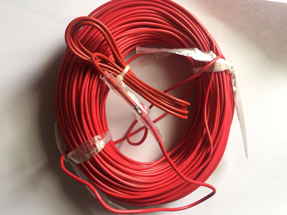 Fast Free Ship 100m Vegetable Greenhouses Electrofarming Air Heating Wire For Farm