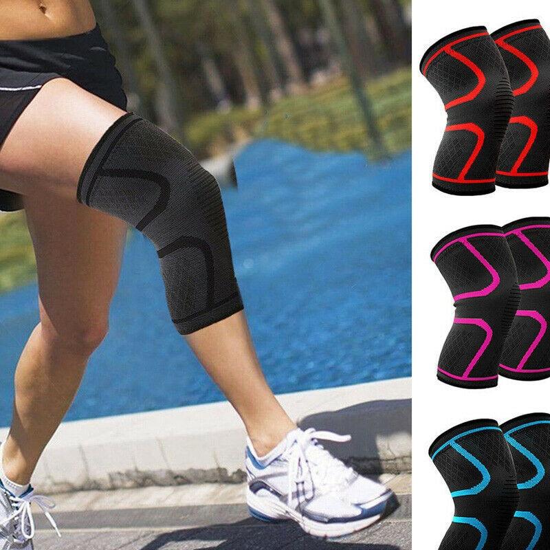 Unisex Knee Support Protector Pad Prevent Arthritis Injury High Elastic Kneepad Sports Knee Sleeve