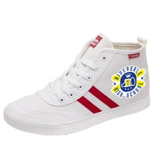 Riverdale Printing Cartoon high top breathable canvas uppers sneakers student personalise fashion Sandshoes A193111 printing justice league hero cool cartoon logo high top breathable canvas uppers sneakers student personali fashion casual shoes
