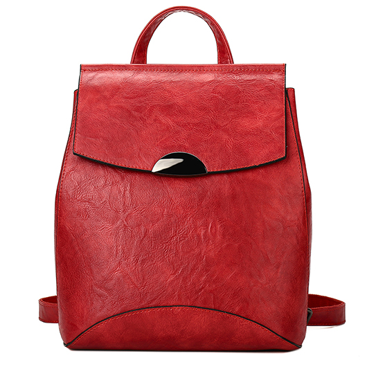 2018 new anti-theft handbags leather wild large capacity casual soft leather backpack shoulder bag female Korean version of the aetoo leather men s shoulder bag leather backpack casual korean version of the simple new wave of large capacity travel bag