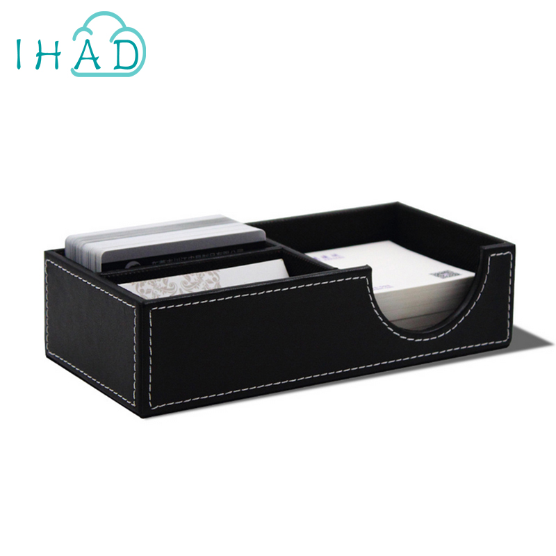 Office business card box change & key storage box USB disk coin ...