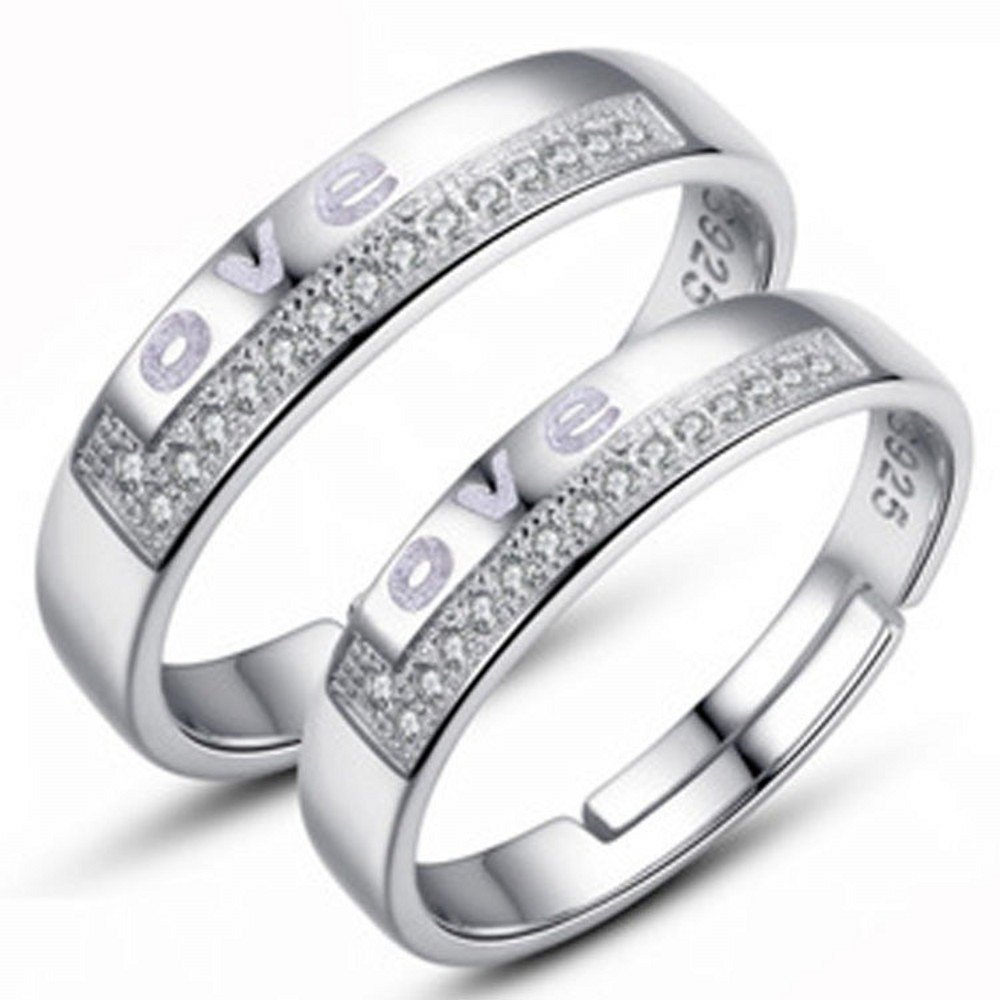Online Get Cheap Couple Silver Rings -Aliexpress.com | Alibaba Group