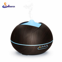 YJ HUMIDIFIER 400ml Air Humidifier Aroma Diffuser Aroma Lamp Aromatherapy Electric Essential Oil Diffuser Mist Maker