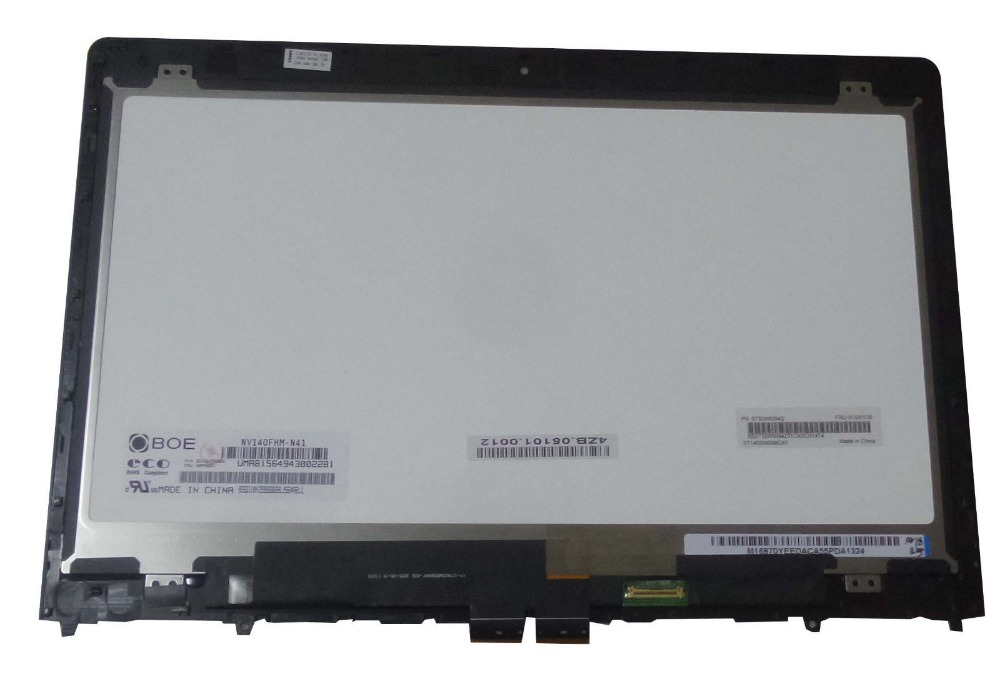 LPPLY 14.0 Inch For Lenovo ThinkPad Yoga 460 20EM001MUS LCD Display With Touch Screen Digitizer Assembly FREE SHIPPING