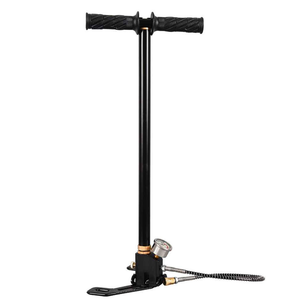 High Pressure Pump 3Stage 300bar 30mpa 4500psi Foldable Stainless Steel Hand Operated Air Pump For Bicycles Motorcycles CarsHigh Pressure Pump 3Stage 300bar 30mpa 4500psi Foldable Stainless Steel Hand Operated Air Pump For Bicycles Motorcycles Cars