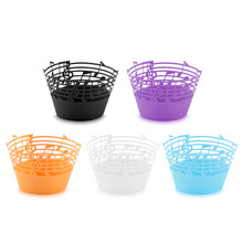 50 pcs/lot Little Vine Lace Cupcake Papper Wrapper Musical  Wedding Birthday  Decoration 5 Colors