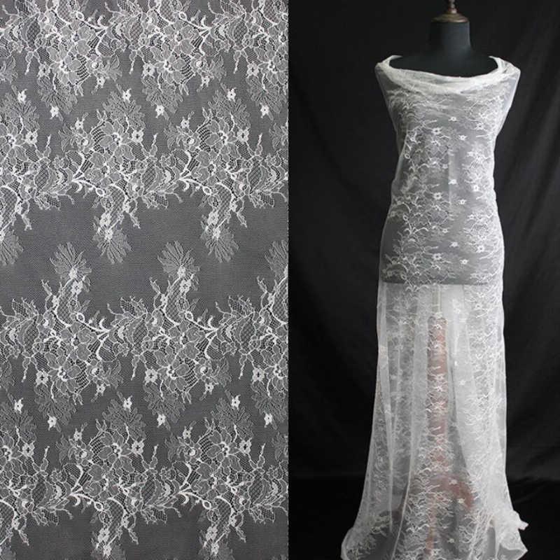 """10 jardas/Lot 150 cm 55 """"Requintado francês chantilly lace para o casamento vestido de noiva vestido de criança decoração do partido casa de costura DIY"""