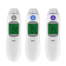 LCD Electronic Baby Adult Digital Thermometer Infrared Forehead Non-contact Temperature Measurement Device Gun Care