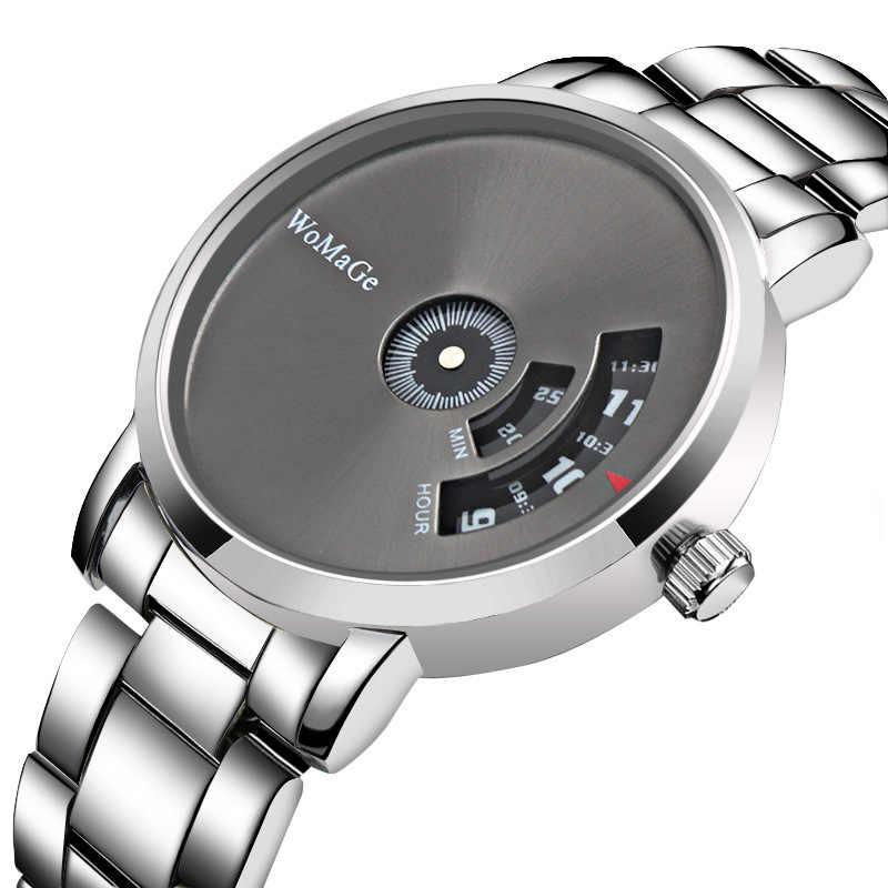 2018 新ファッショントップブランドpaiduターンテーブルdialsteelバンド腕時計ファッションスポーツは、男性の女性ユニセックスギフトドレス時計