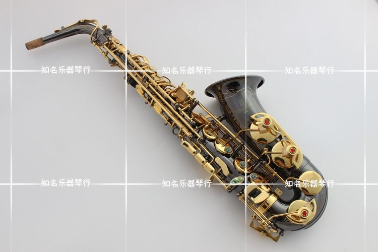 Japan Yanagisawa YANAGISAWA new A-991 E Alto Saxophone instrument drop / wind / tube black nickel gold Sax brand suzuki eb alto saxophone as 500n drop e saxophone surface to electroplating black nickel gold the paint sax instrument