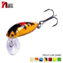 NOEBY NBL9159 Floating Lure Bass Pike Walleye Bait Trout Plastic Fishing Wobbler Hard Swimbaits Artificial 2.8cm/2g
