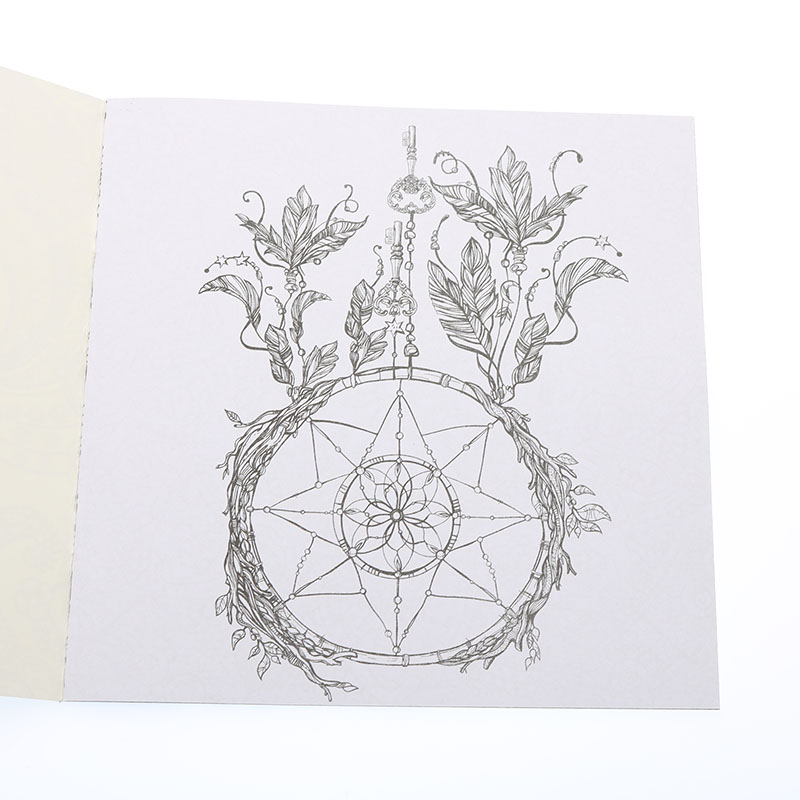 Page 24 Flower Mandala Coloring Book For Children Adults To Ease The Pressure Spend Time Painting Graffiti Art Books In From Office