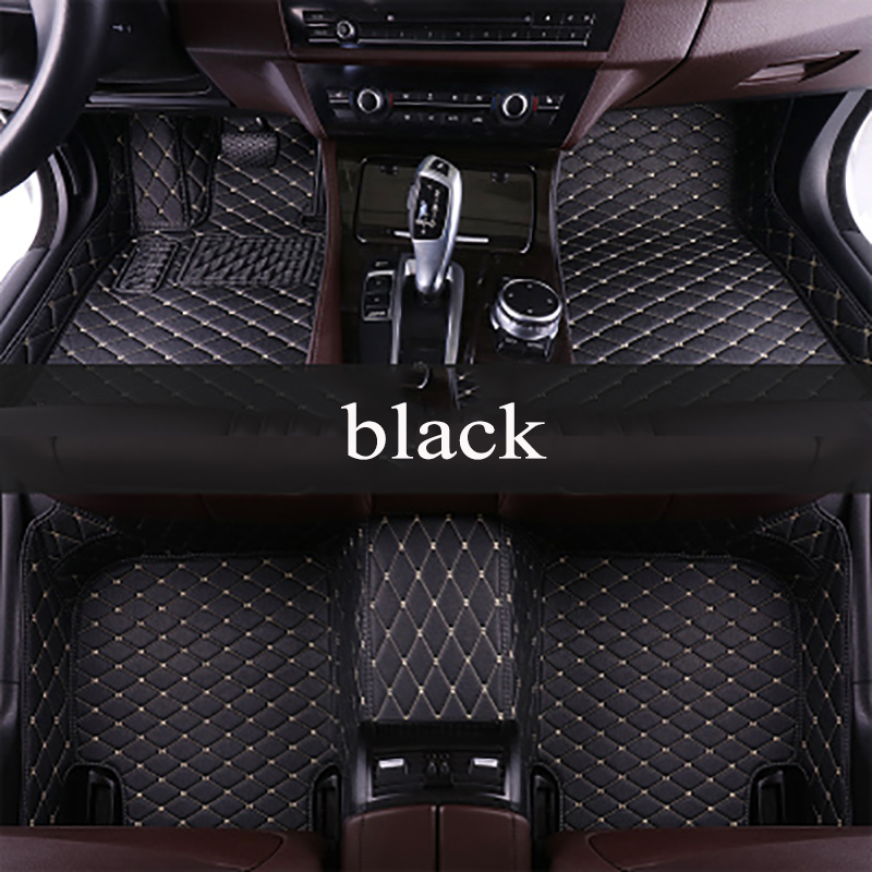 kalaisike Custom car floor mats for Kia All Models rio ceed sportage cerato k2 k3 k4 k5 carnival car accessories car styling