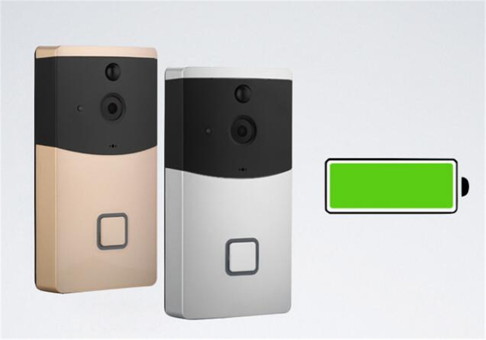 Build-in Battery Long Time Standby Wireless WIFI 720p IP Doorbell Intercom SystemBuild-in Battery Long Time Standby Wireless WIFI 720p IP Doorbell Intercom System