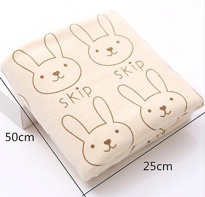 Baby Rabbits Patterned Towels