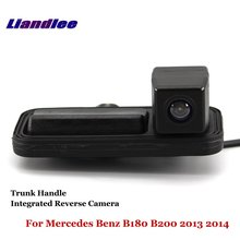 Liandlee For Mercedes Benz B180 B200 2013 2014 Car Reverse Camera Rear View Backup Parking / Integrated Trunk Handle