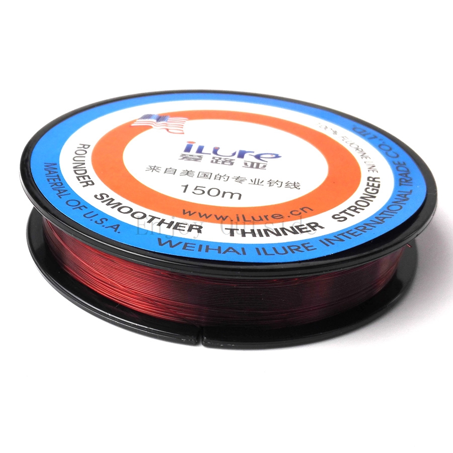 1pcs ilure very strong 150m fluorocarbon coating fishing for Fishing line leader